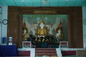 Bouddha à la Pagode Myaw Yint