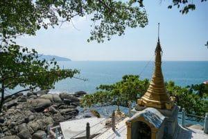 Stupa à la Pagode Myaw Yint