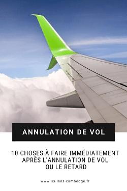 Pin it - Annulation de vol