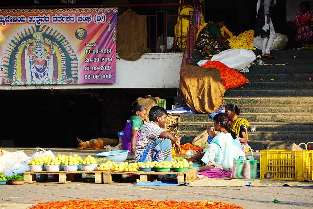 Marché de Bangalore