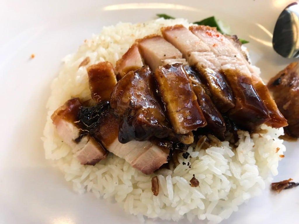 Repas à Chinatown