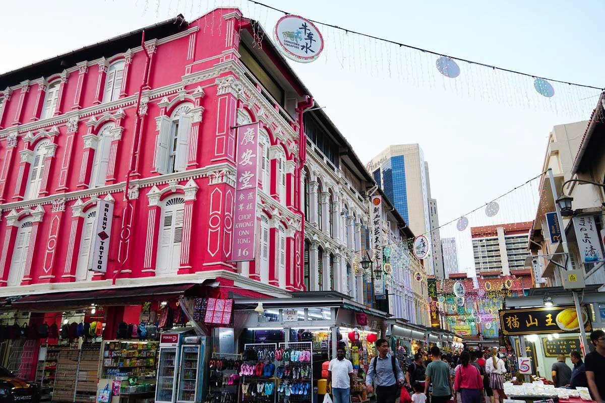 Visiter Singapour: Chinatown